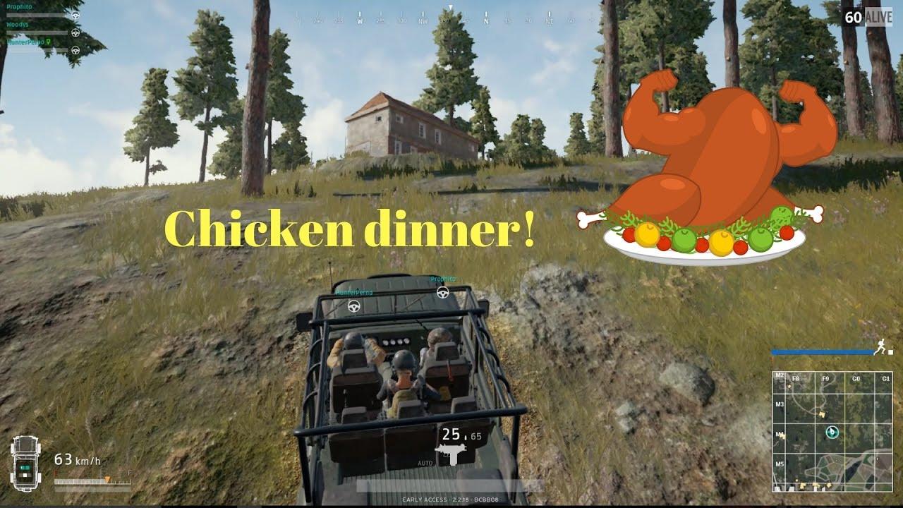 Pubg Chicken Dinner  PUBG Chicken dinner 2