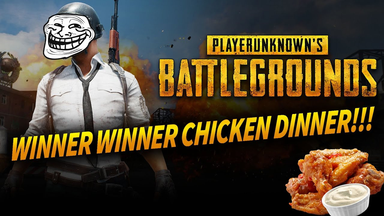 Pubg Chicken Dinner  PUBG Corp attaque NetEase Rules of Survival Knives Out