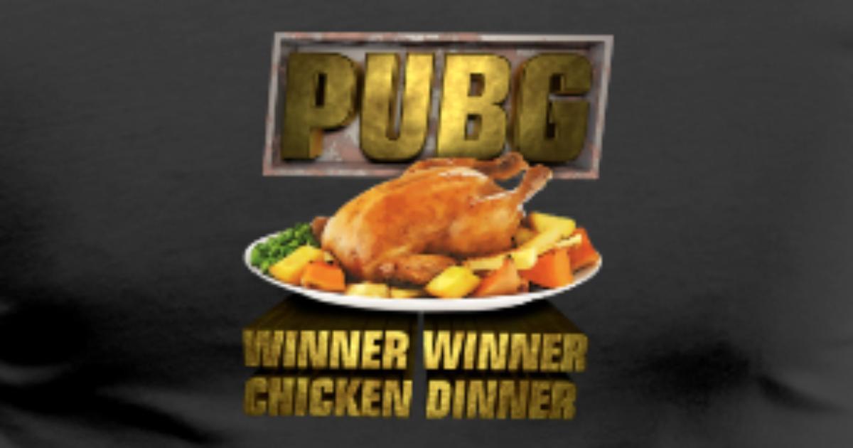 Pubg Chicken Dinner  PUBG Winner Winner Chicken Dinner T Shirt