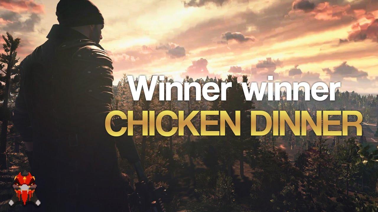 Pubg Chicken Dinner  WINNER WINNER CHICKEN DINNER PUBG