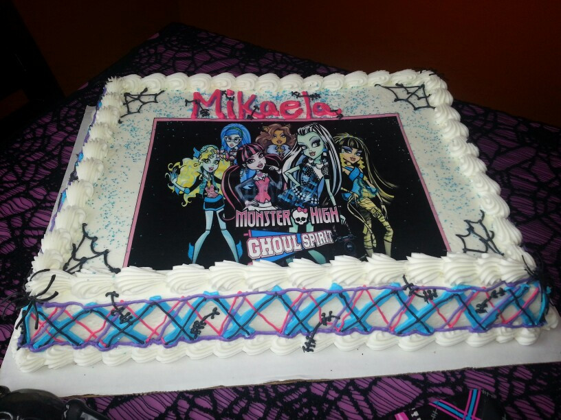 Publix Birthday Cake  Monster High Birthday Cake Publix — CRIOLLA Brithday