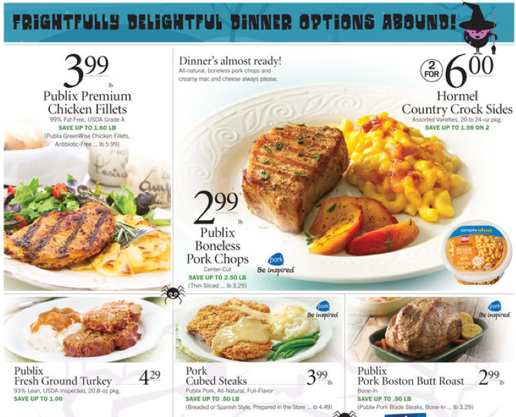 Publix Christmas Dinner  Publix Ad Dinner Ideas for Your Guests