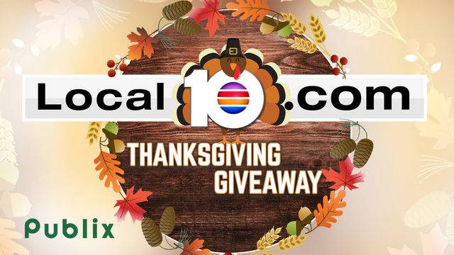 Publix Thanksgiving Dinner 2018  Win $100 Publix t cards in Local 10 s Thanksgiving Giveaway