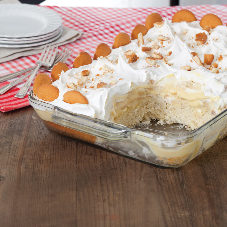 Pudding Cake Recipe  Banana Pudding Poke Cake Taste of the South