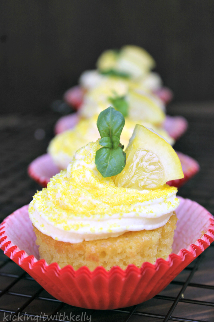 Pudding Filled Cupcakes  Pudding Filled Cupcakes With Zesty Lemon Buttercream Frosting