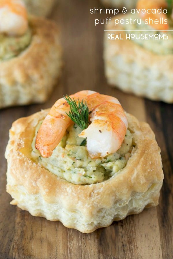 Puffed Pastry Appetizers Recipes  Shrimp & Avocado Puff Pastry Shells ⋆ Real Housemoms