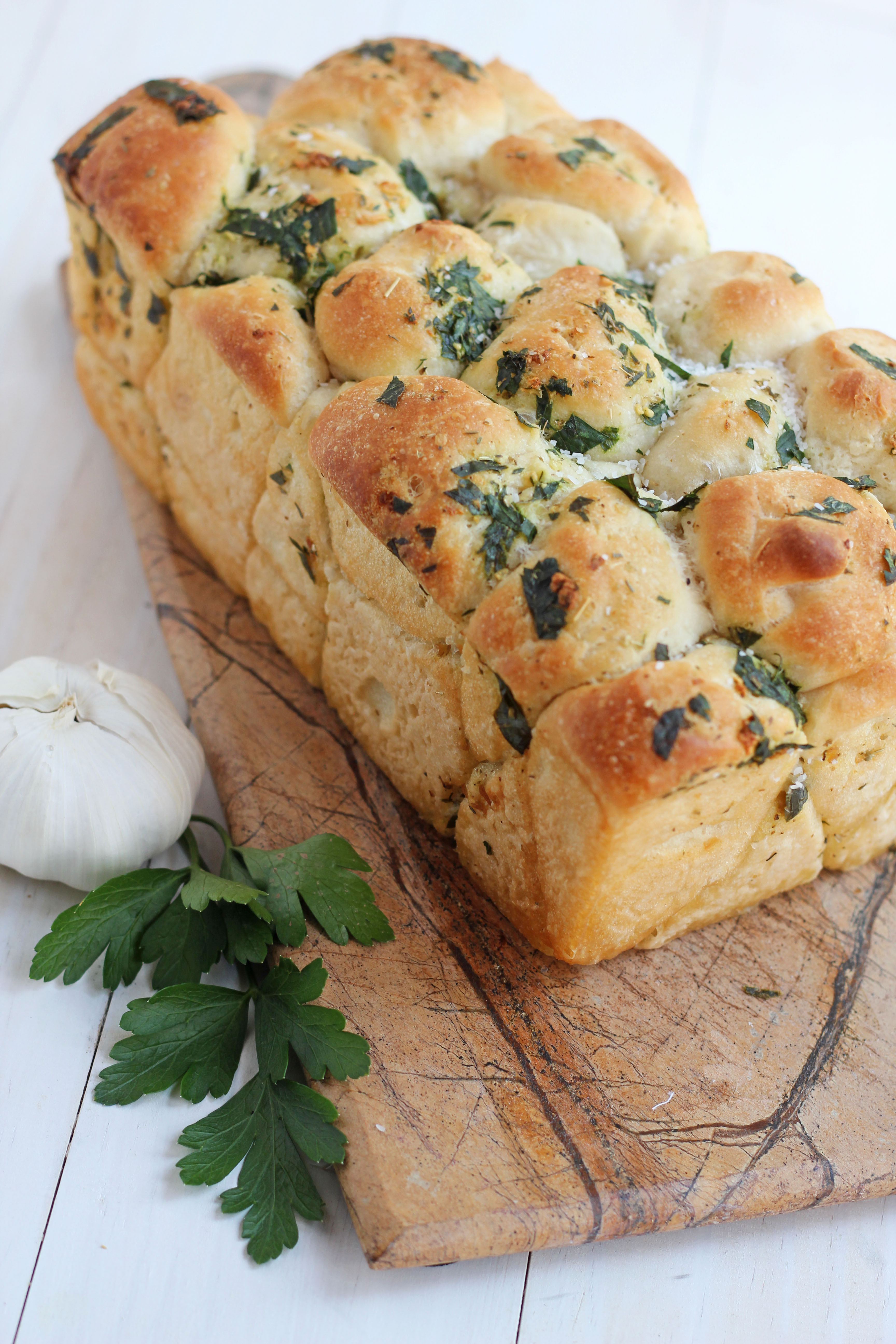 Pull Apart Garlic Bread  These 50 Pull Apart Bread Recipes Will Have Everyone