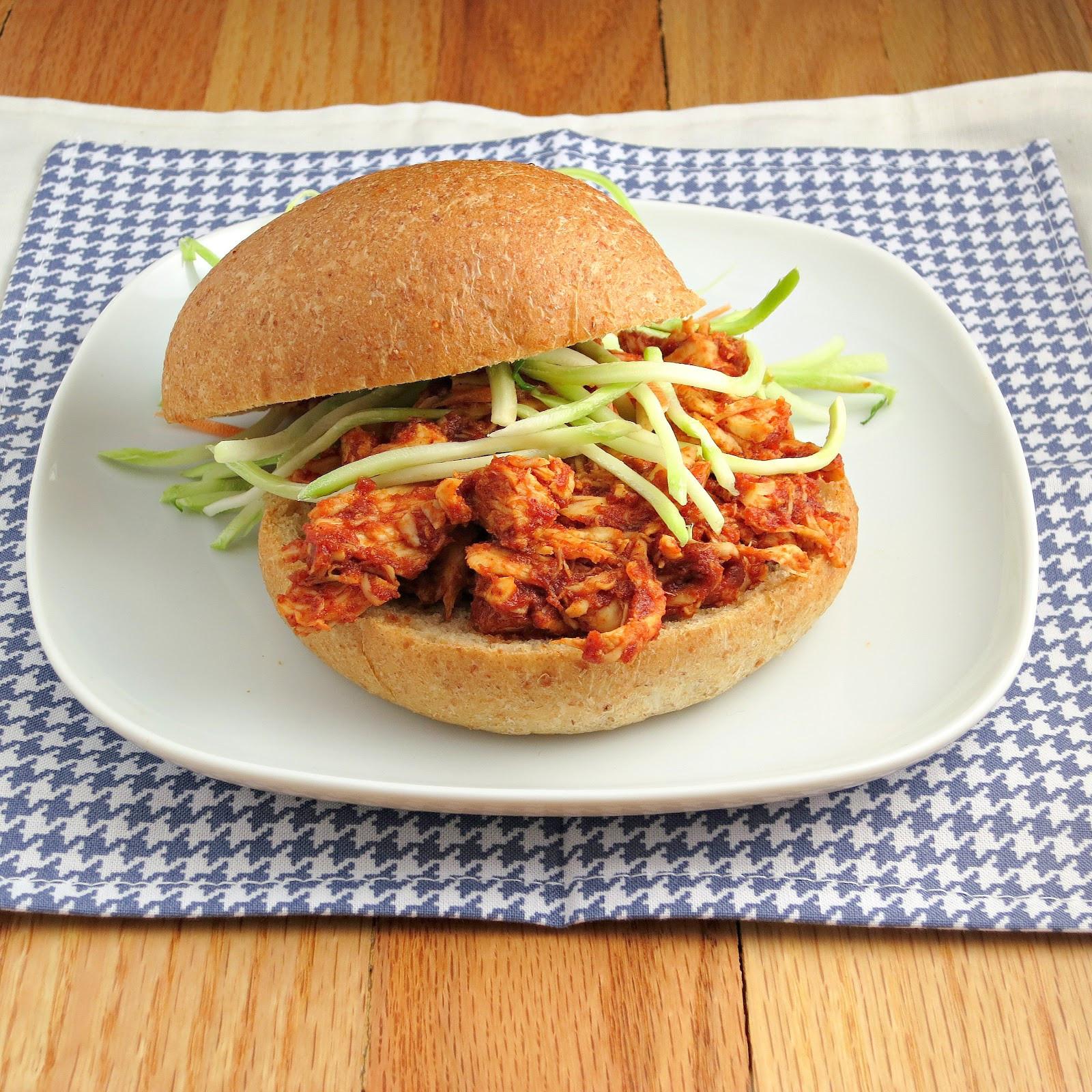 Pulled Chicken Sandwiches  Pulled Chicken Sandwiches