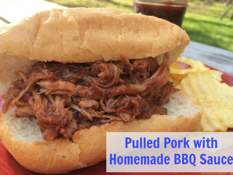 Pulled Pork Bbq Sauce  Appetizers Fast Easy and Yummy too NEPA Mom