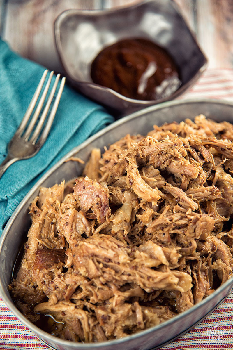 Pulled Pork Bbq Sauce  Pulled Pork With BBQ Mustard Sauce