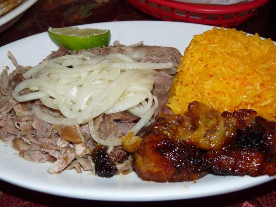 Pulled Pork Dinner  Pulled pork dinner Great flavor Picture of El Siboney