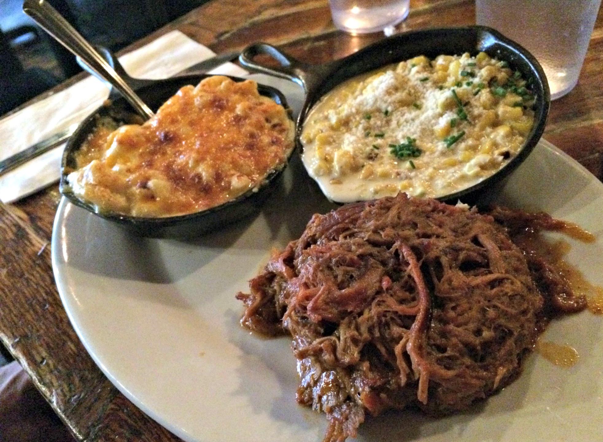 Pulled Pork Dinner  New York City Brooklyn Bagel Spa Castle & Southern