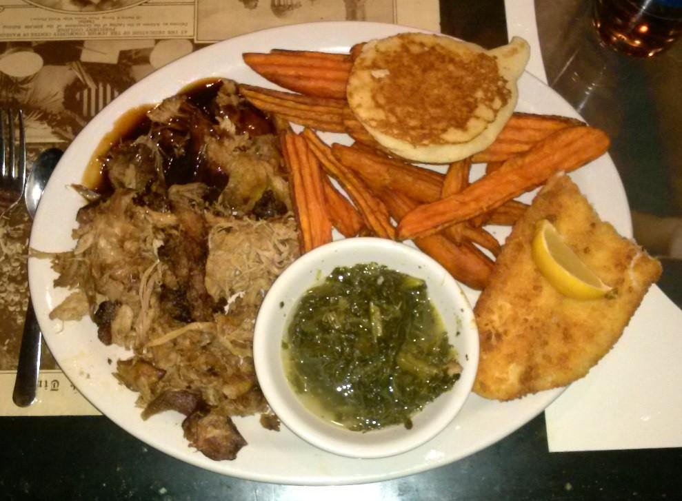 Pulled Pork Dinner  John T's BBQ – Winchester Tennessee