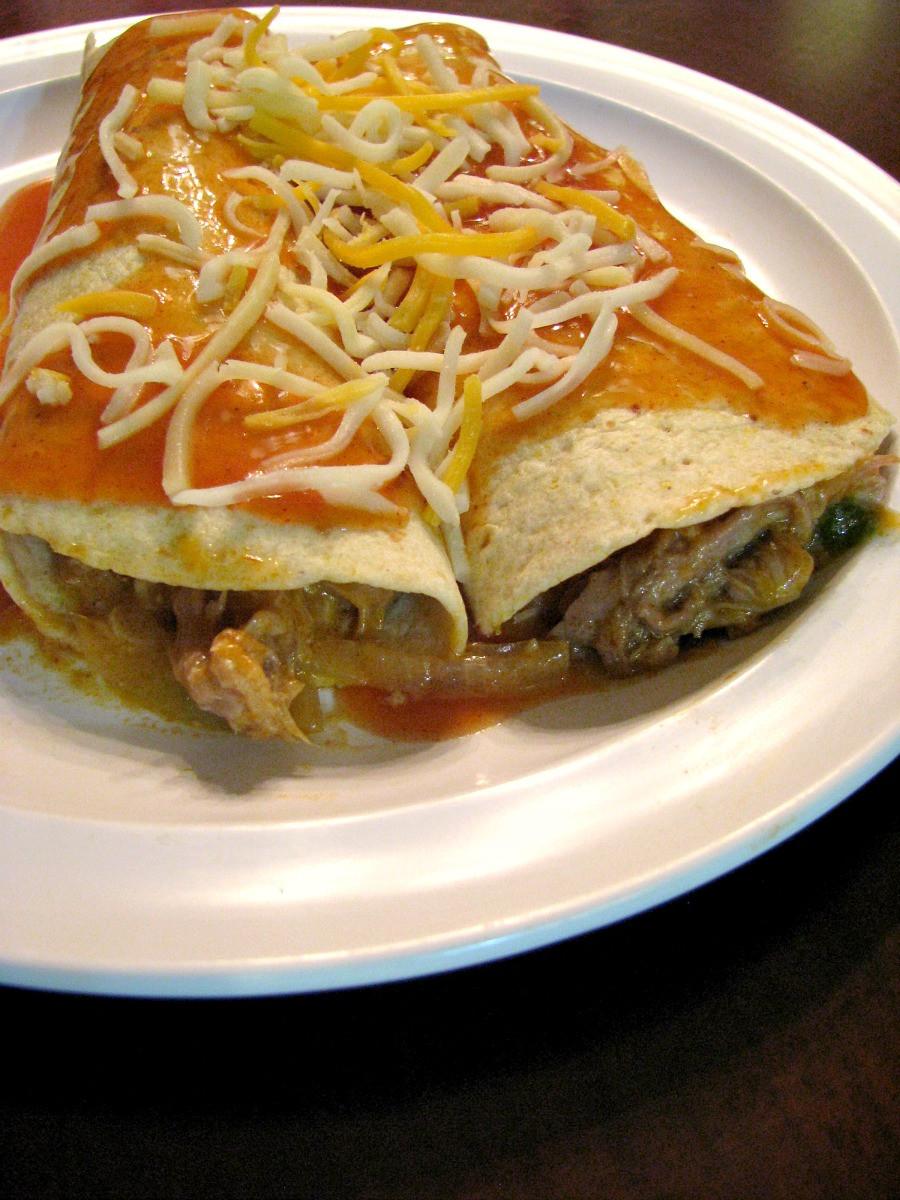 Pulled Pork Enchiladas  Slow Cooker Pulled Pork Enchiladas Rants From My Crazy