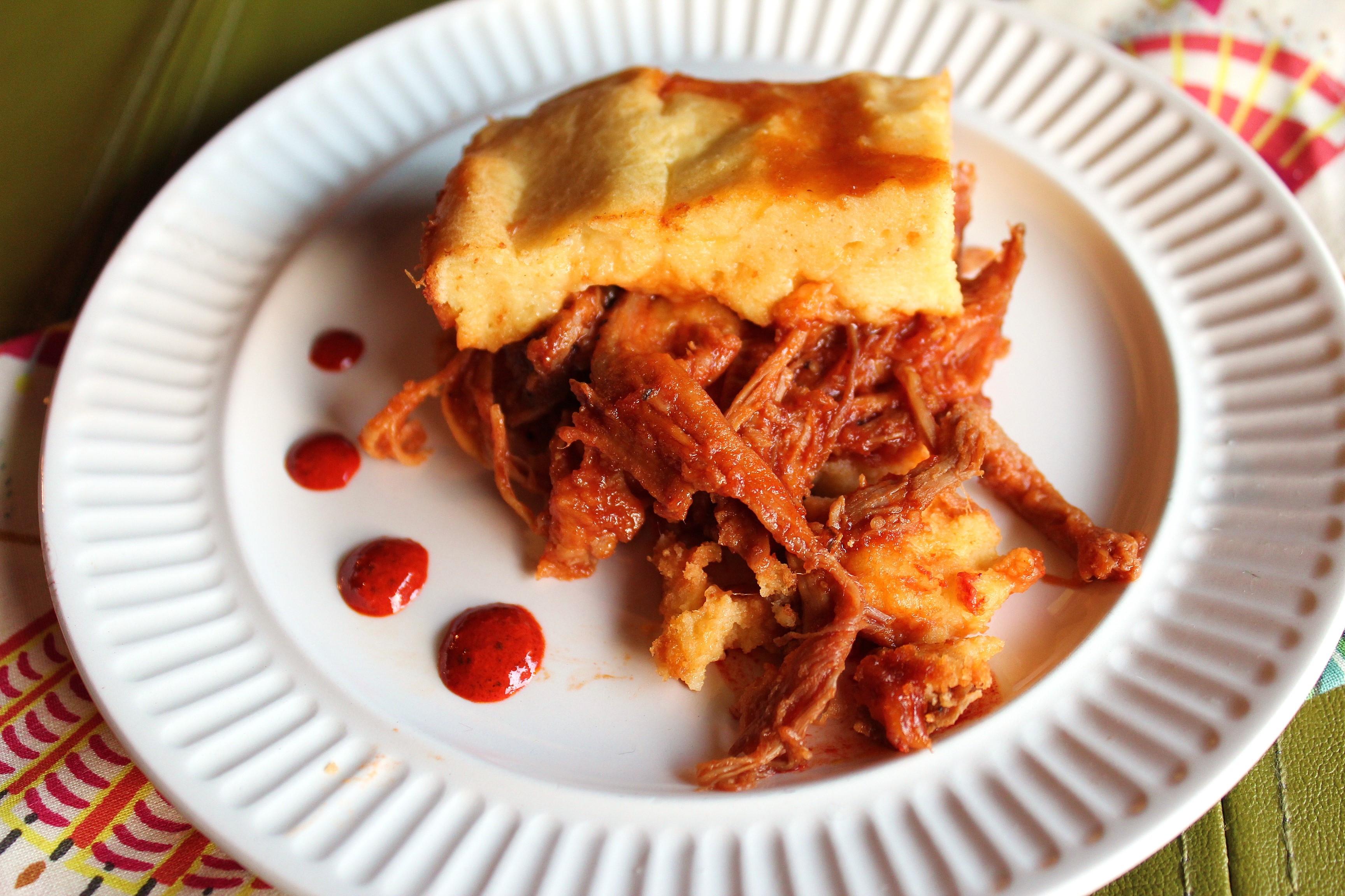 Pulled Pork Shepherd'S Pie  BBQ Pulled Pork Tamale Pie