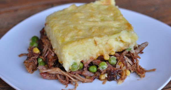Pulled Pork Shepherd'S Pie  Pulled Pork Shepherd s Pie Schäferkuchen BBQPit