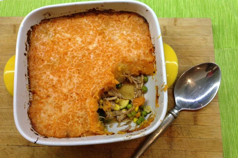 Pulled Pork Shepherd'S Pie  Sweet Potato & Pulled Pork Shepherds Pie repurposing