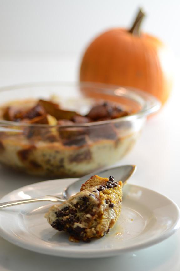 Pumpkin Bread Pudding Recipe  Easy Pumpkin Bread Pudding Recipe Elana s Pantry