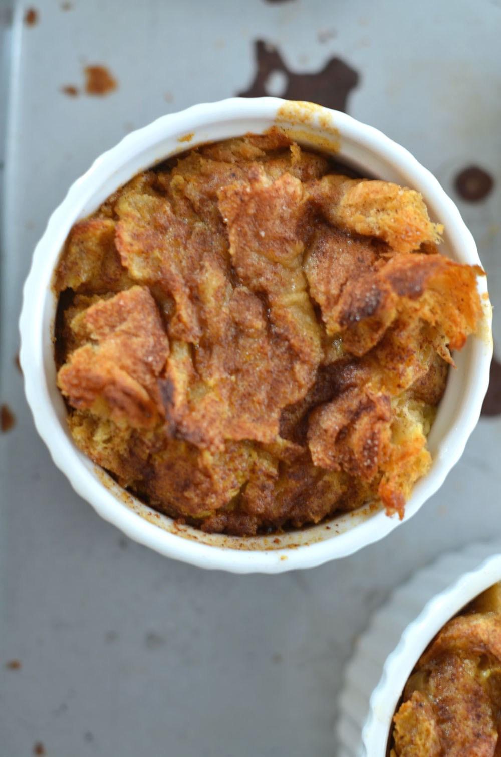 Pumpkin Bread Pudding Recipe  Pumpkin Bread Pudding