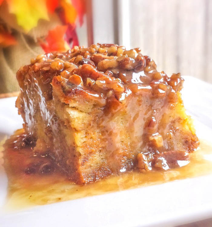 Pumpkin Bread Pudding Recipe  Pumpkin Praline Bread Pudding Flavor Mosaic