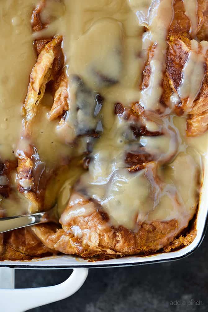 Pumpkin Bread Pudding Recipe  Pumpkin Bread Pudding Recipe with Maple Cream Sauce Add