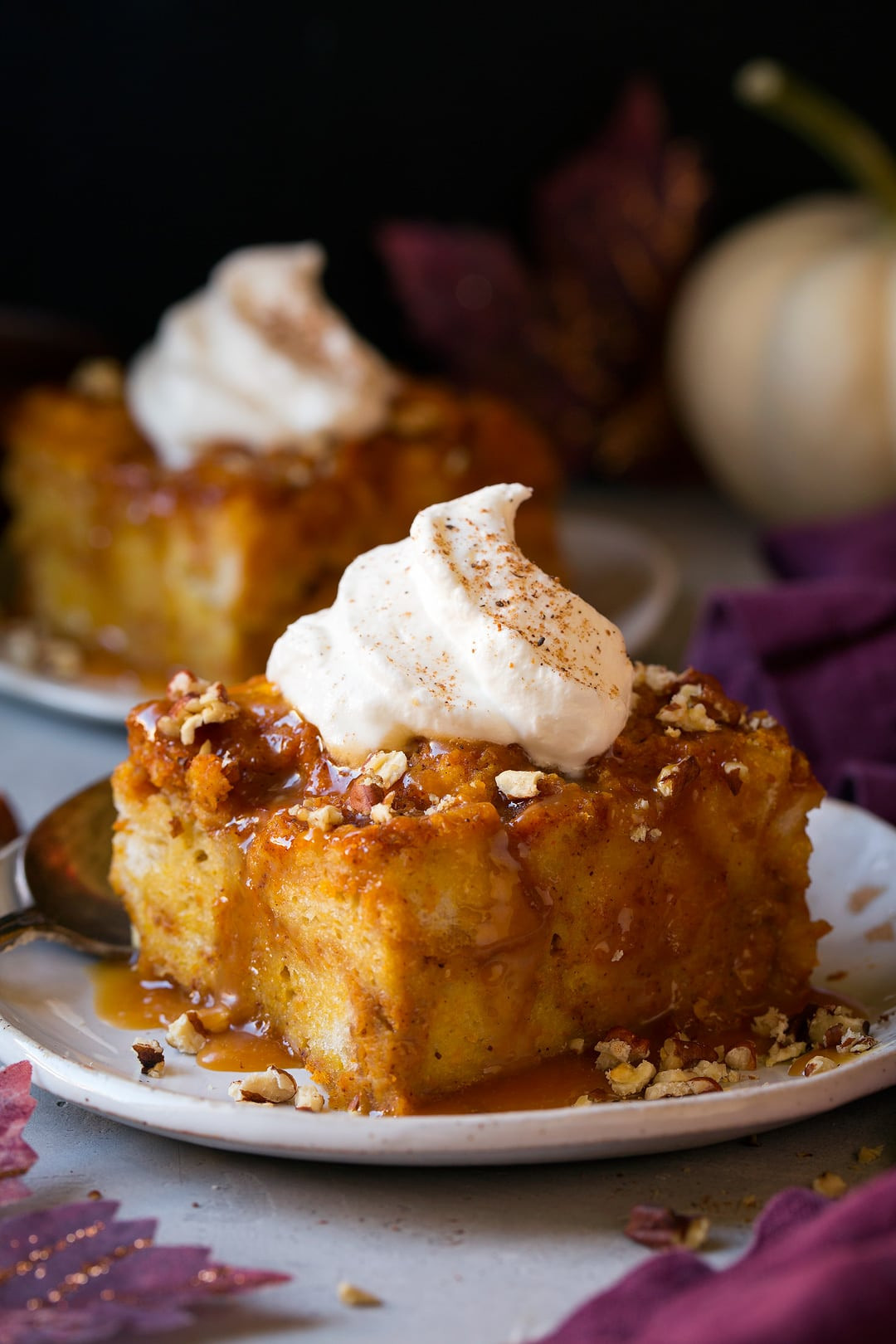 Pumpkin Bread Pudding Recipe  Pumpkin Bread Pudding Cooking Classy