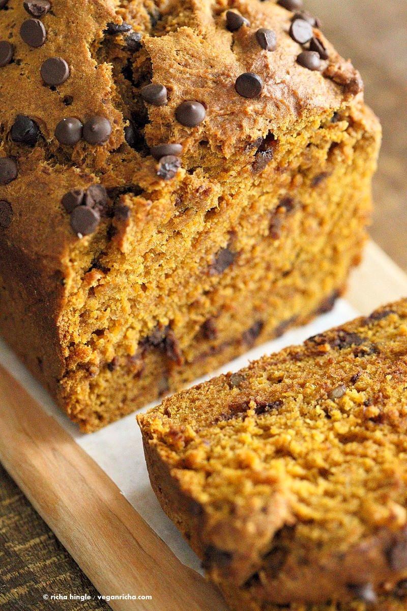 Pumpkin Bread Recipe  1 Bowl Vegan Pumpkin Bread Recipe Vegan Richa