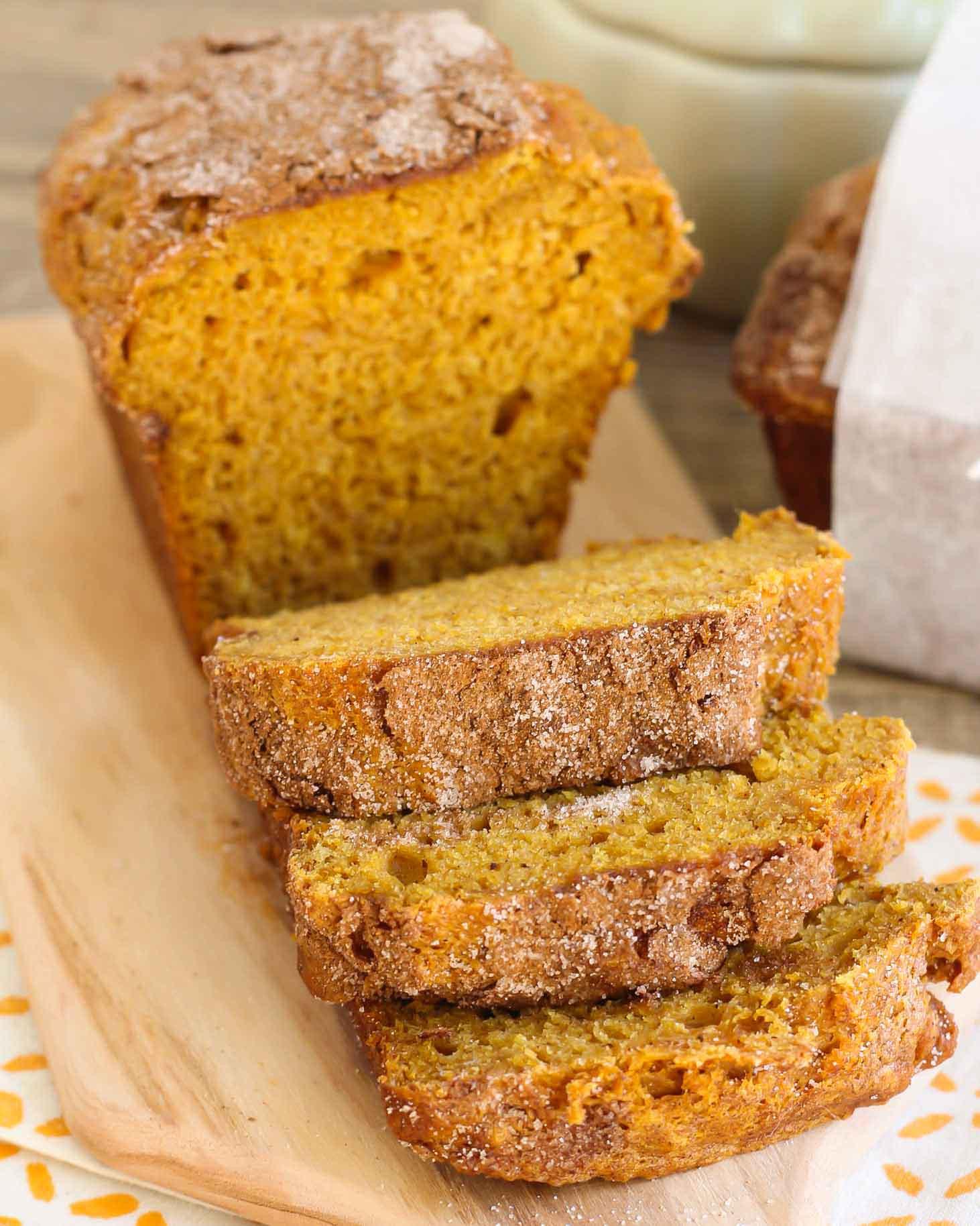 Pumpkin Bread Recipe With Canned Pumpkin  BEST Pumpkin Bread Recipe