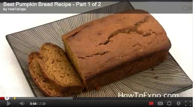Pumpkin Bread Recipe With Canned Pumpkin  Simple Banana Pumpkin Bread Recipe with Canned Pumpkin