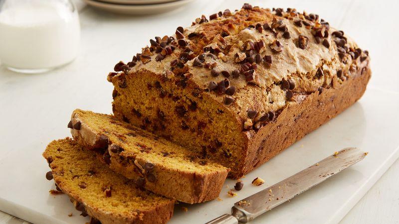 Pumpkin Bread With Chocolate Chips  Chocolate Chip Pumpkin Bread Recipe BettyCrocker
