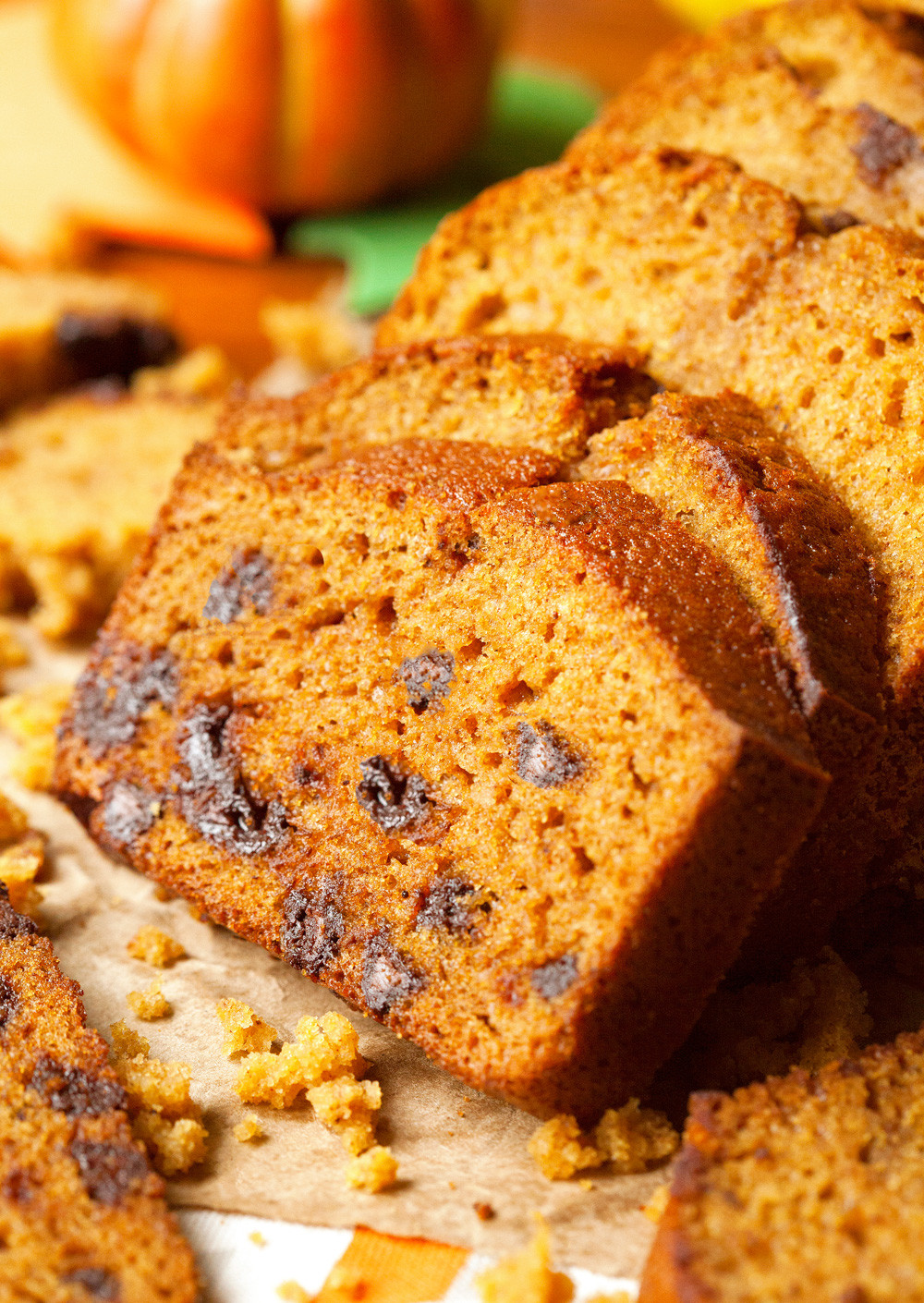 Pumpkin Bread With Chocolate Chips  The Best Chocolate Chip Pumpkin Bread