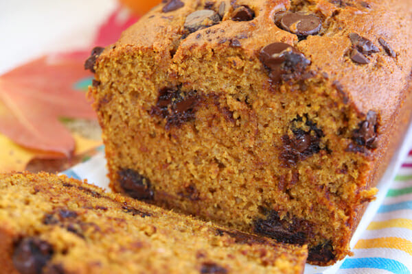 Pumpkin Bread With Chocolate Chips  The Best Pumpkin Bread Recipe