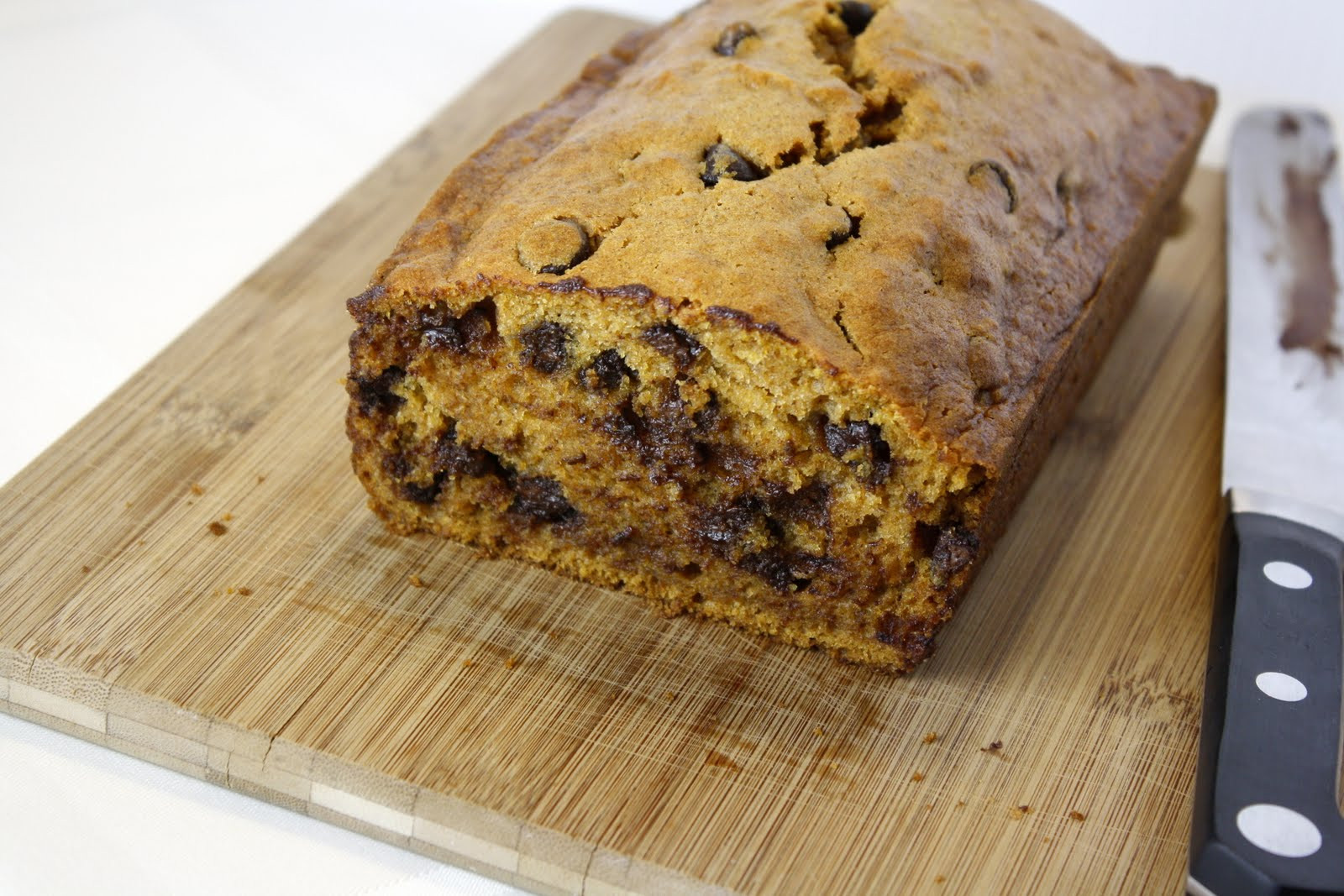 Pumpkin Bread With Chocolate Chips  Chocolate Chip Pumpkin Bread
