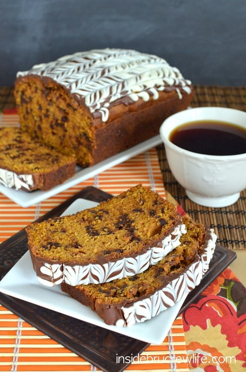 Pumpkin Bread With Chocolate Chips  Pumpkin Chocolate Chip Bread
