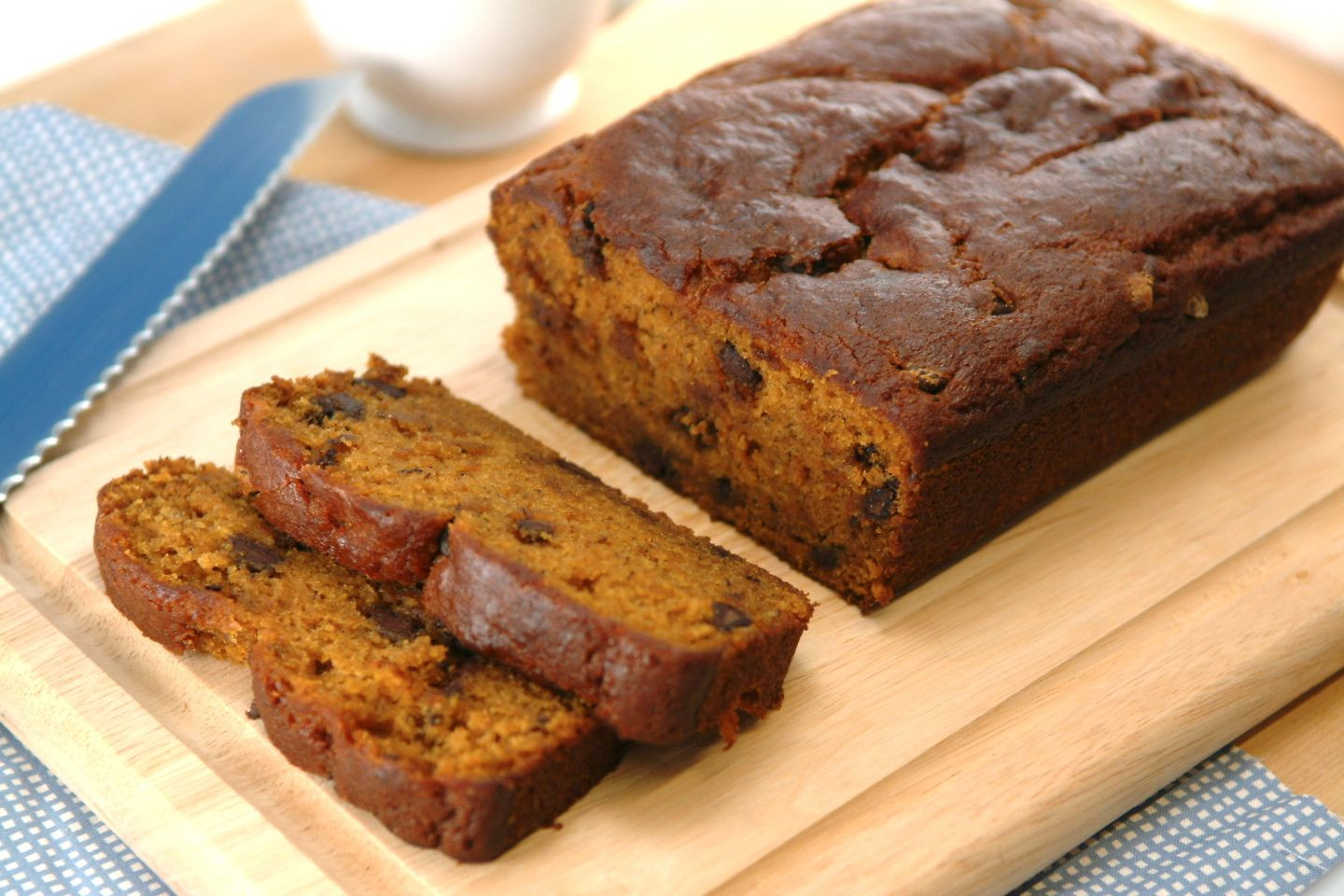 Pumpkin Bread With Chocolate Chips  Chocolate Pumpkin Banana Bread Recipe