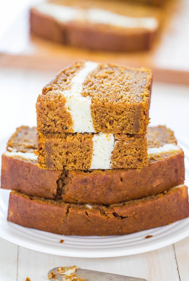 Pumpkin Bread With Cream Cheese  7 Pumpkin Bread Recipes that Go Beyond the Ordinary