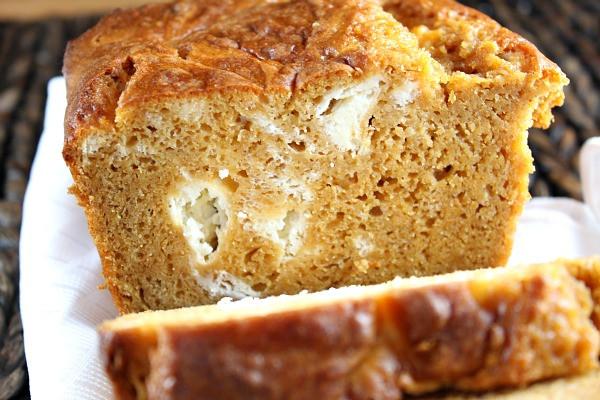 Pumpkin Bread With Cream Cheese  Pumpkin Cream Cheese Bread