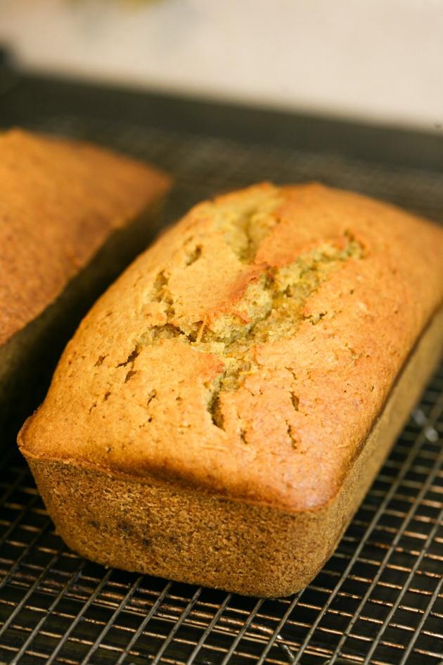 Pumpkin Bread With Fresh Pumpkin  Easy Pumpkin Bread Recipe with Less Sugar and Fresh