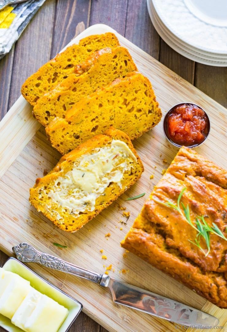 Pumpkin Bread With Fresh Pumpkin  Easy Pumpkin Bread Recipe