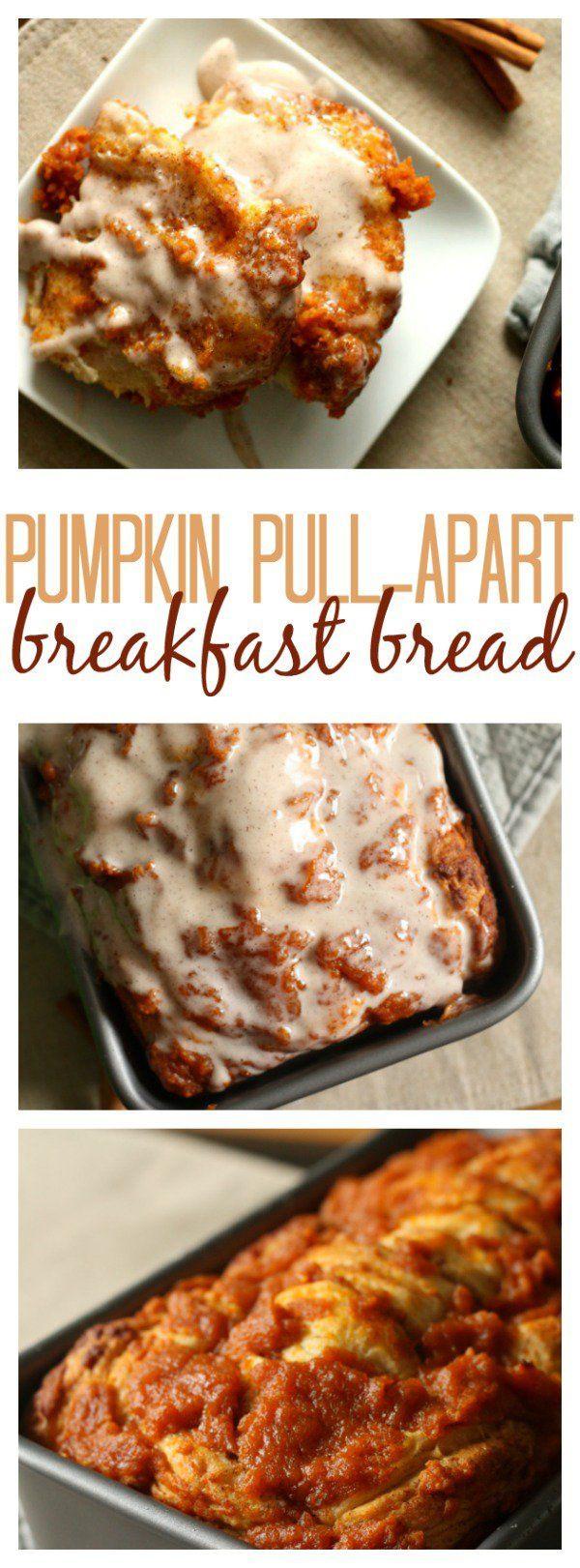 Pumpkin Breakfast Recipes  827 best images about Breads on Pinterest