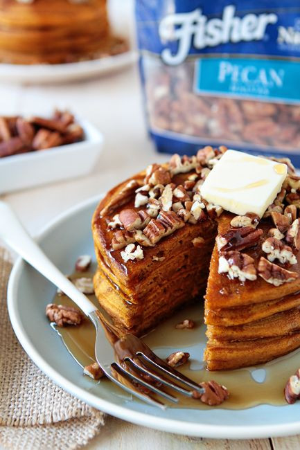 Pumpkin Breakfast Recipes  Check out Pumpkin Pancakes It s so easy to make