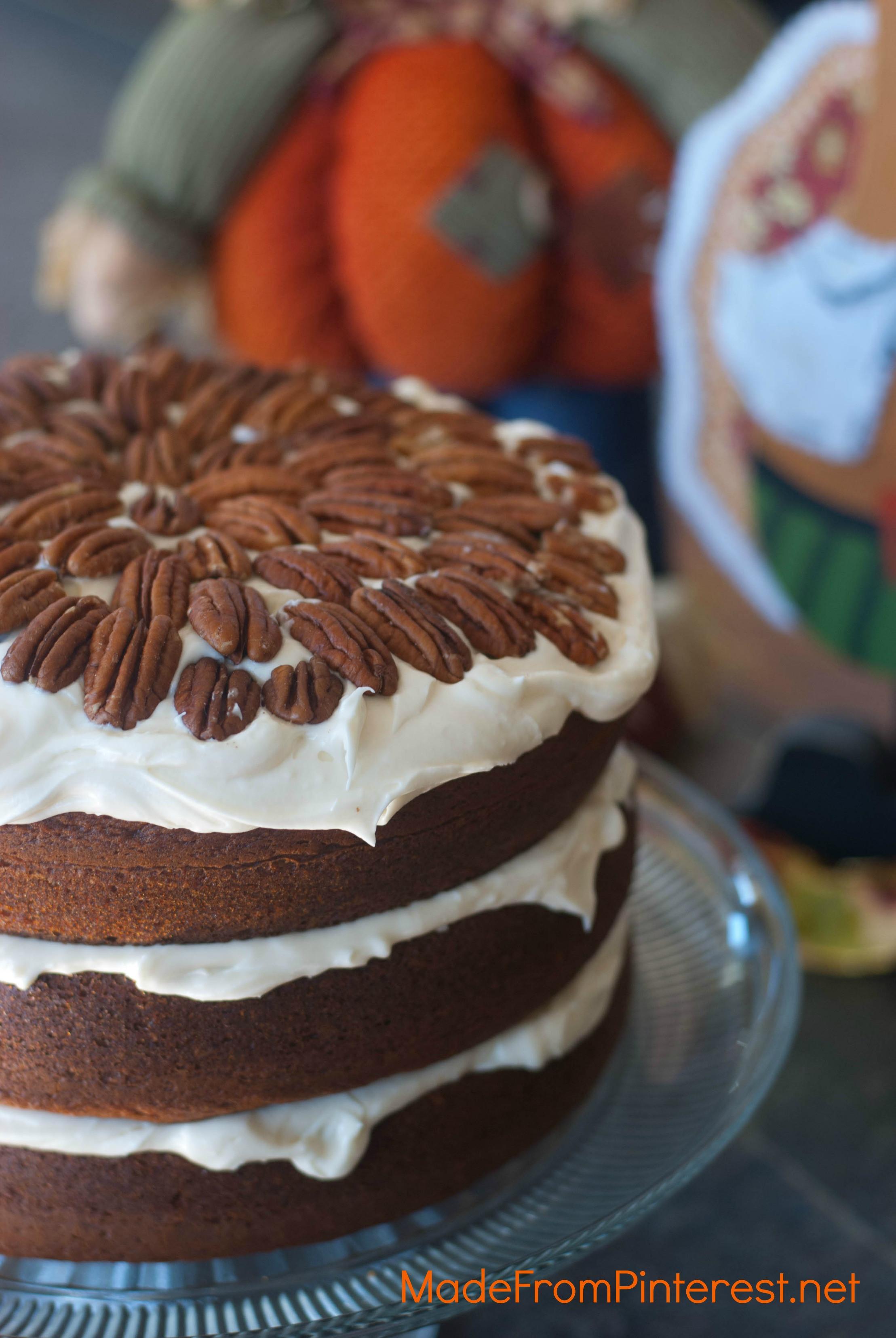 Pumpkin Cake Recipe  Clifton s Pumpkin Cake