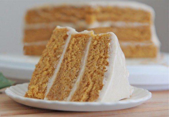 Pumpkin Cake Recipe  Easy Pumpkin Spice Cake Recipe w Cinnamon Cream Cheese