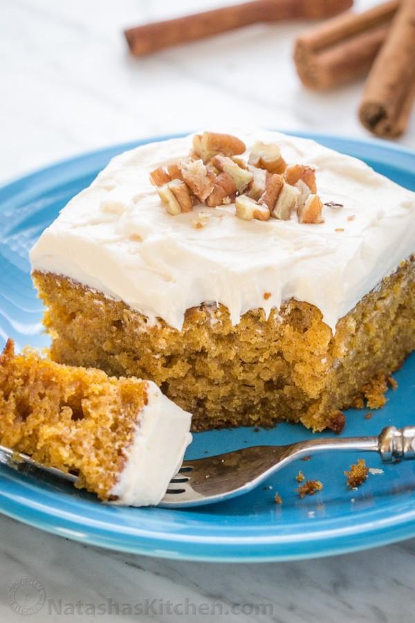 Pumpkin Cake Recipe  moist pumpkin cake recipe