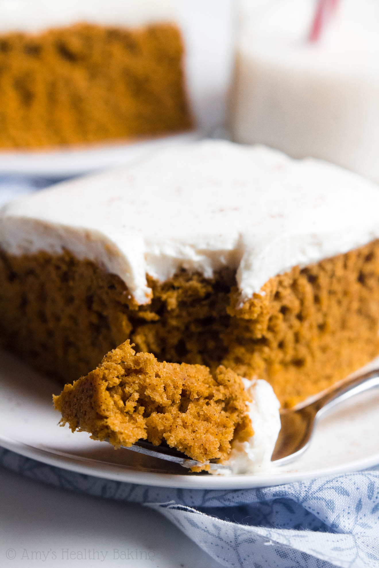 Pumpkin Cake With Cream Cheese Frosting  Pumpkin Cake with Cream Cheese Frosting