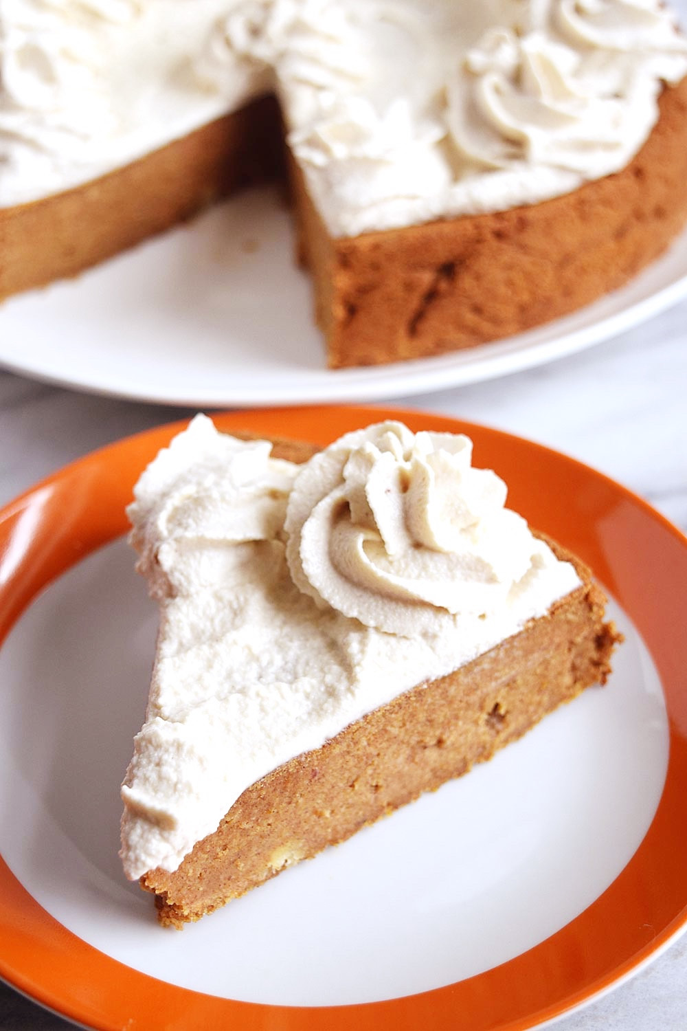 Pumpkin Cake With Cream Cheese Frosting  Vegan Pumpkin Cake with Cream Cheese Frosting Beaming Banana