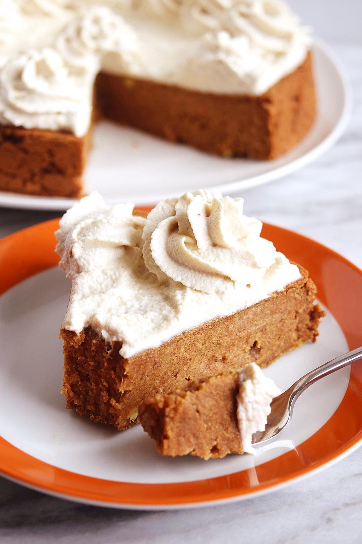Pumpkin Cake With Cream Cheese Frosting  Vegan Pumpkin Cake with Cream Cheese Frosting Beaming Banana