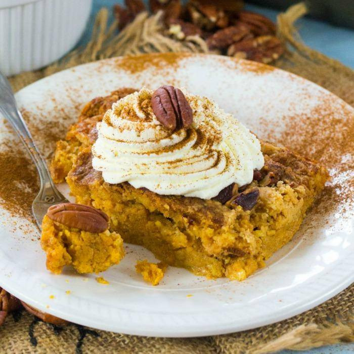 Pumpkin Cake With Yellow Cake Mix  Pumpkin Dump Cake Recipe with Yellow Cake Mix