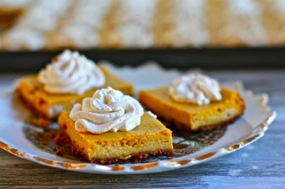 Pumpkin Cheese Cake Bites  Pumpkin Cheesecake Bites My Recipes