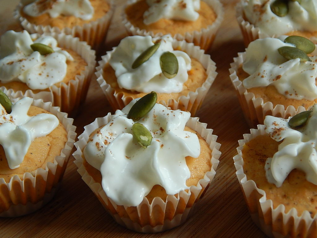 Pumpkin Cheese Cake Bites  Mini pumpkin cheesecake bites Drizzle Me Skinny Drizzle